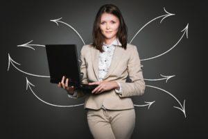 Advokat Kvinde Sekretær Business