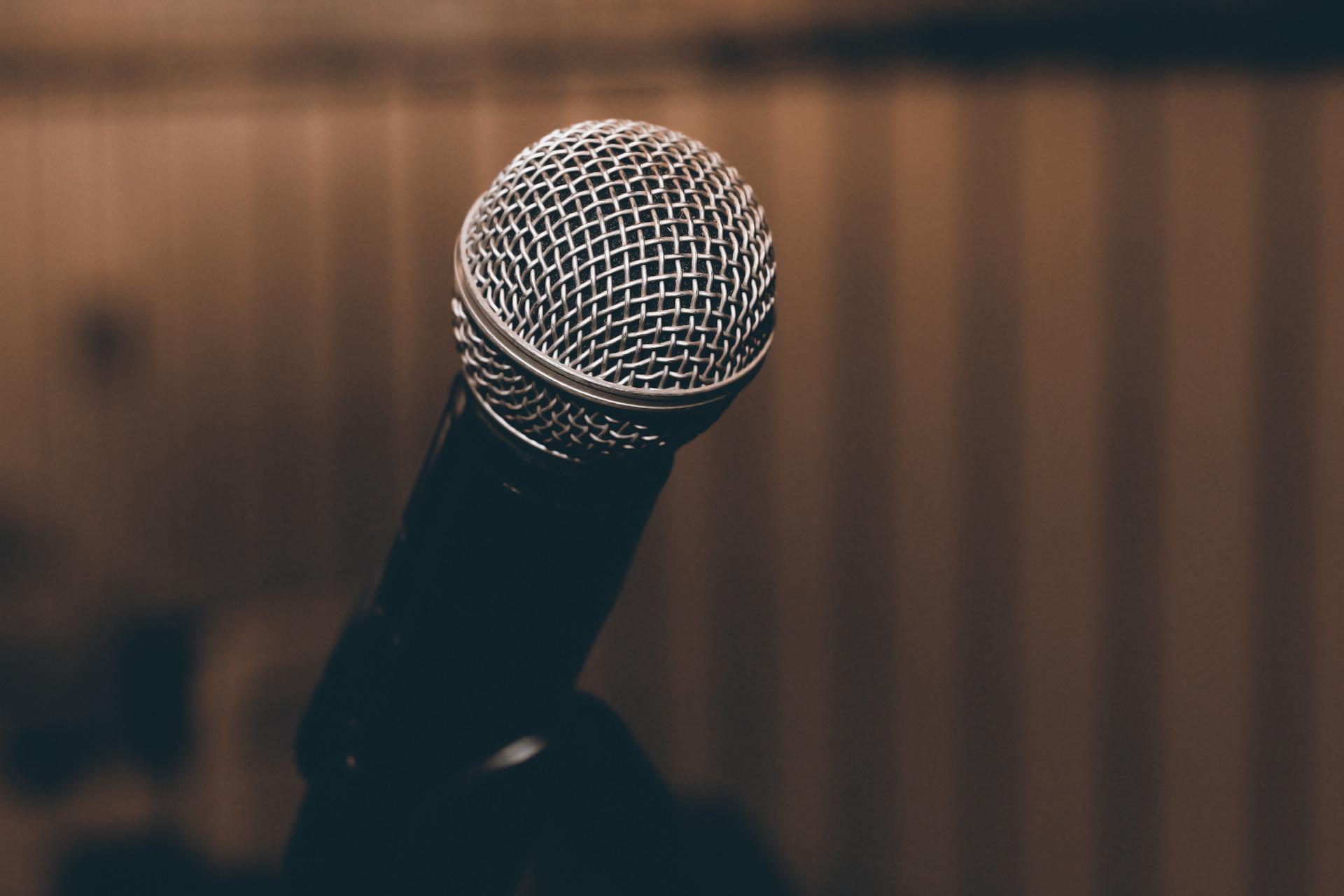 Mikrofon tale foredrag