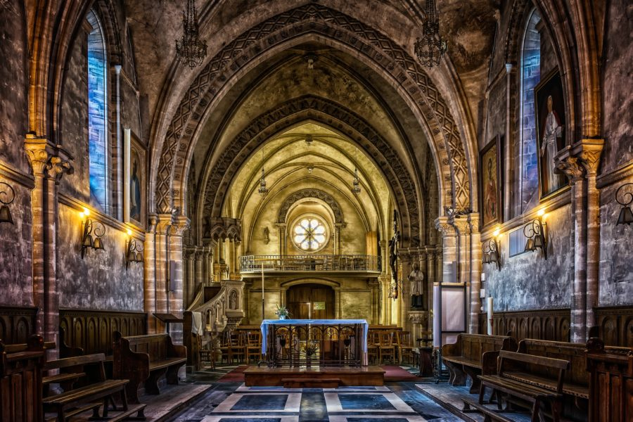 præst kirke bibel kristendom jesus