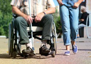 Handicap Ledsager Hjælper Handicaphjælper
