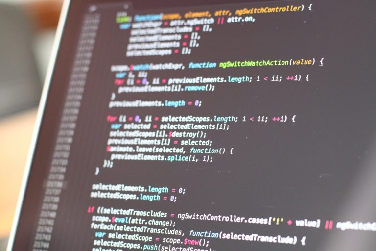 programmør udvikler kode