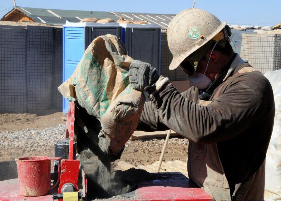 murer mursten beton håndværk