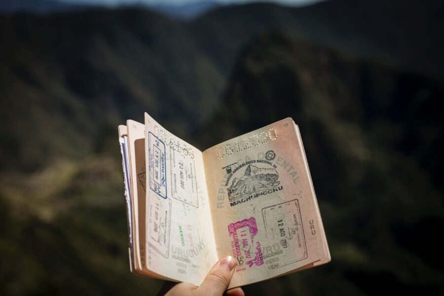 told tolder pas grænse