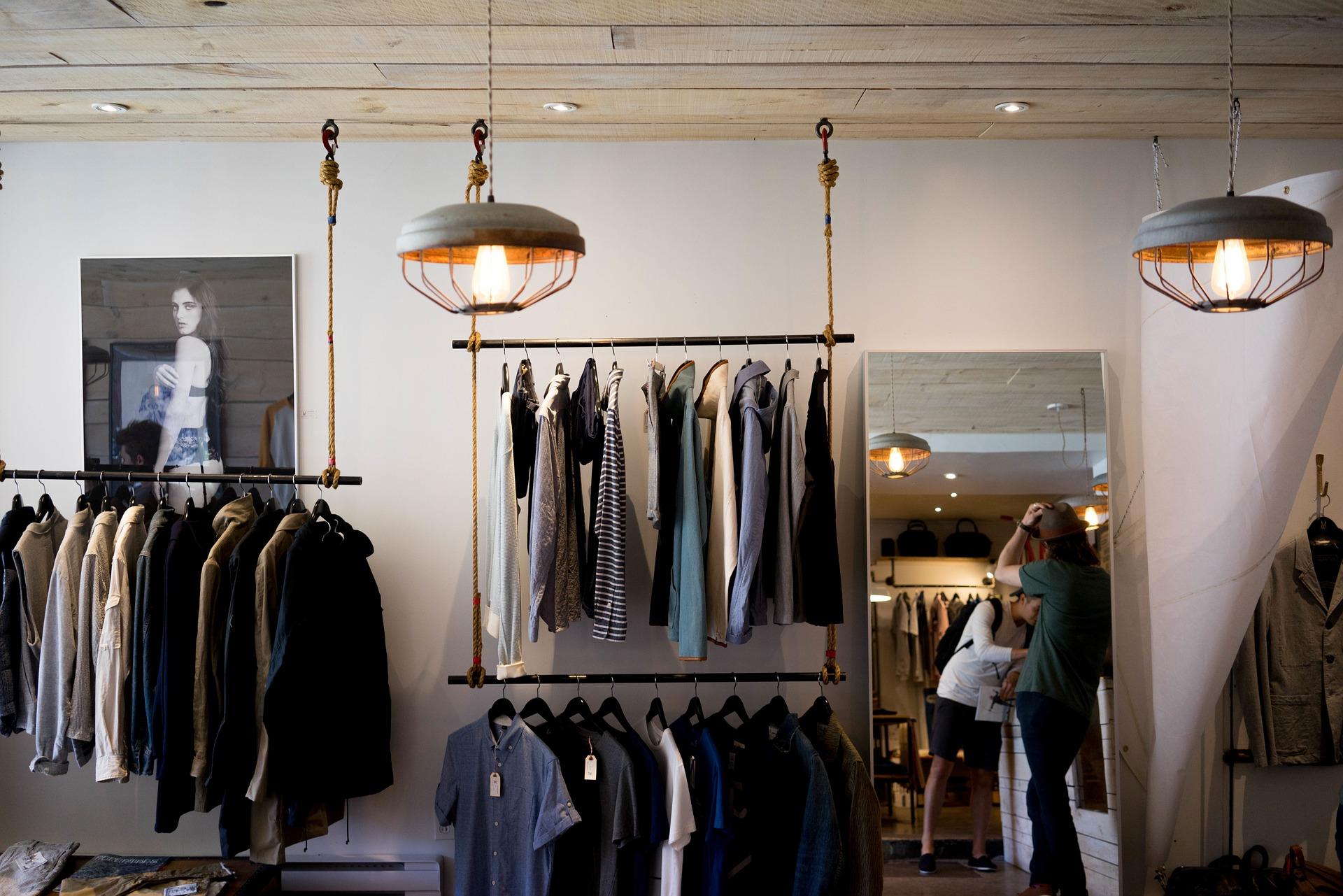salg butik tøj