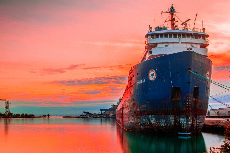 kaptajn skib sejlads