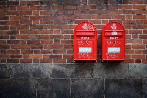 post postbud postkasse