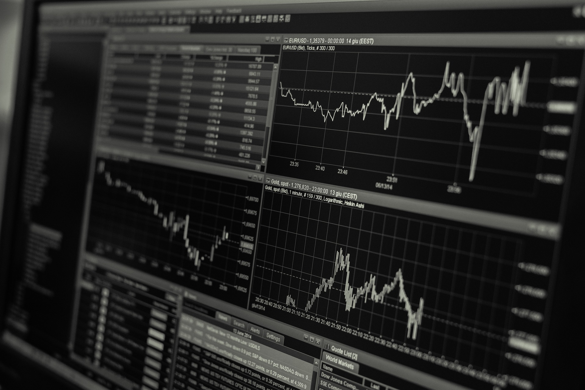 økonomi finans tal