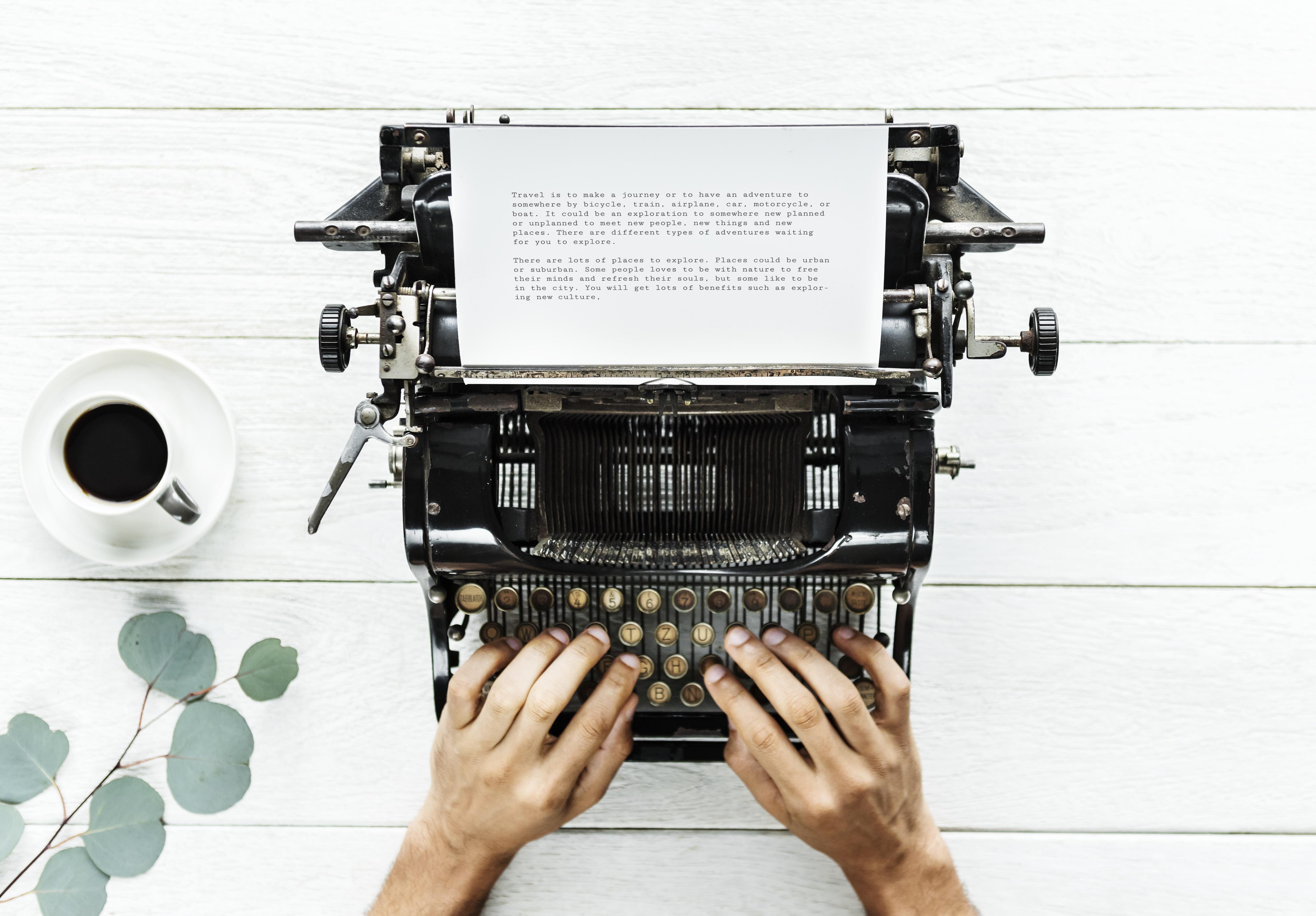 forfatter skrive bøger